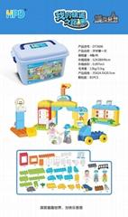 Bucket of Building Block Toy Story Bricks