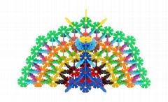 Snowflakes Toys Stacking Blocks Educational Building Blocks