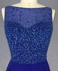 New Style Beading Bridesmaid Prom Dress