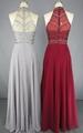 Latest Fashion Chiffon Sequined Beading Prom Dresses 4