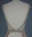 Open Back Beading Rhinestone Prom Dress
