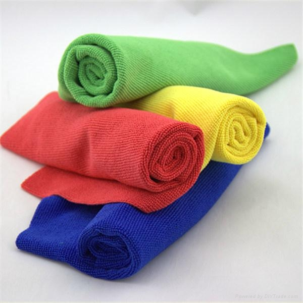 China suppliers yellow blue red green cleaning towel more cheap microfiber c 3