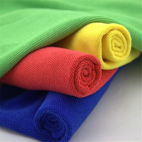 China suppliers yellow blue red green cleaning towel more cheap microfiber c 4