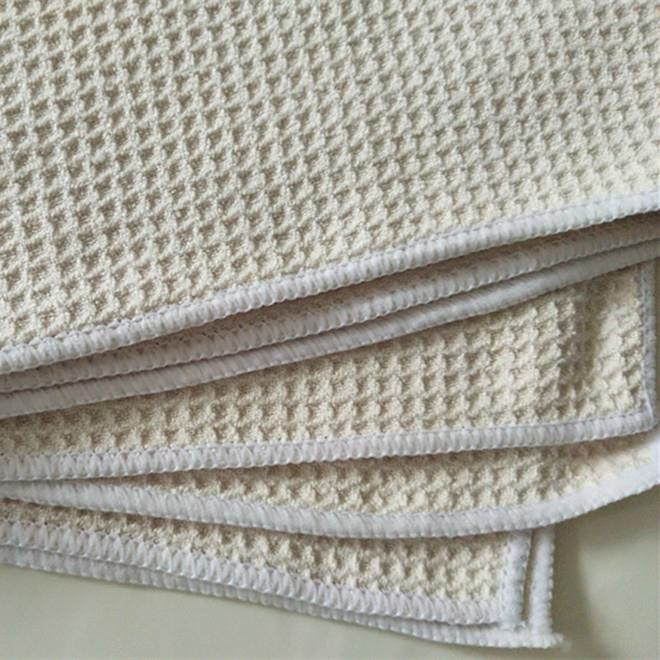 More cheap premium quality cleaning cloth microfiber waffle car cleaning cloth 5