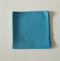 Wholesale high quality car towel microfiber waffle car cleaning towel 2