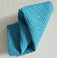 Wholesale high quality car towel microfiber waffle car cleaning towel 4