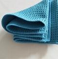Wholesale high quality car towel microfiber waffle car cleaning towel 5