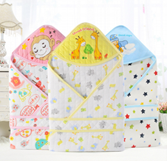 Cartoon design more cheap baby sleeping bag soft baby blanket
