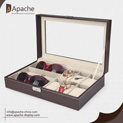 Leather Watches Stoarage Box