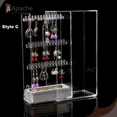 Multi-layer Acrylic Rings Table-top Display Box