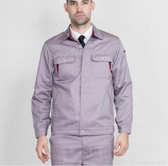 Hight quality costomised color embroidery logo print workwear men's uniform
