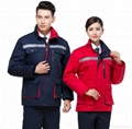 windproof and waterproof uniform with embroidery safety suits 4