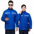 windproof and waterproof uniform with embroidery safety suits 2