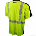 o neck short sleeve safety T shirtshigh visible uniform or workwear 4