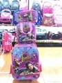 3-in-1 trolley wheeled school bag set with lunch box and pencil case 3