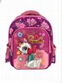 Girl beautiful school bag, school
