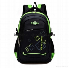 Fashion student backpack school bag college daypack