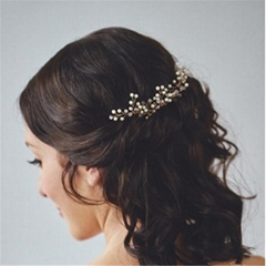 European Style Bride Manual Hairpin Headwear Wedding Dress
