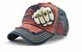 The New ball caps fist pattern mandarin orange baseball hat fashion men