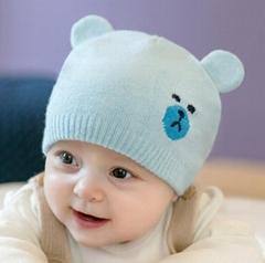 冬季新款宝宝保暖帽防风帽子