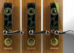 半導體識別智能指紋鎖YQ-18