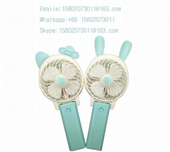 Rabbit Ear Portable Rechargeable Air Cooling Mini Hand Fan