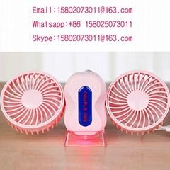Plastic portable hand holder mini fan USB mini desk fan
