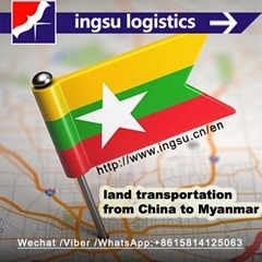 logistics service from China to kyelgaung (Jiegao) border by land