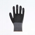 Latex Palm Coating Crinkle Working Safety Gloves 2