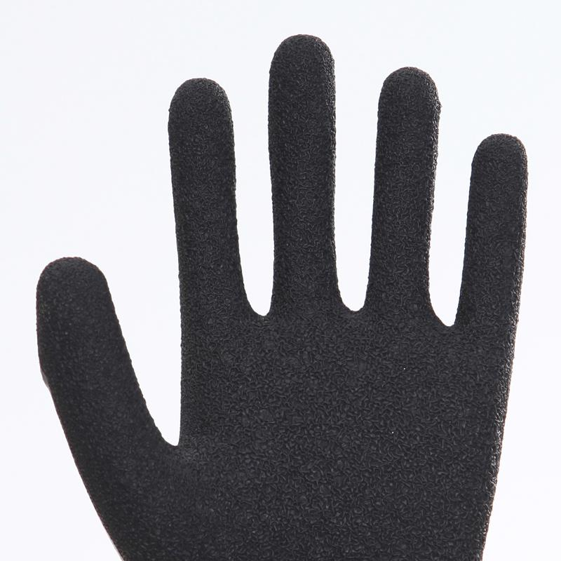 Latex Palm Coating Crinkle Working Safety Gloves 1