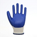 Cotton Liner Blue Latex Coating Smooth
