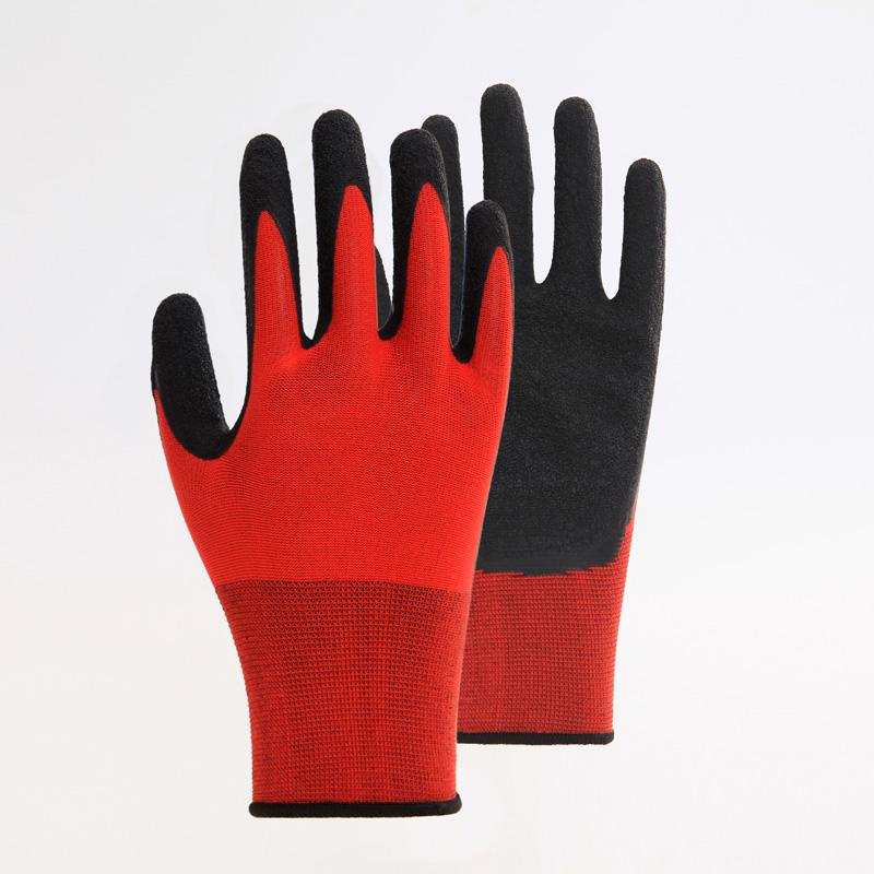 Firm Grip Cotton Knitted Work Gloves 4
