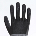 Nature Cow Grain Leather Working Safety Gloves 3