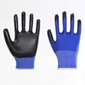 Firm Grip Cotton Knitted Working Gloves 5