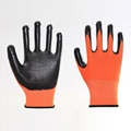 Firm Grip Cotton Knitted Working Gloves 4