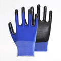 Firm Grip Cotton Knitted Working Gloves 2