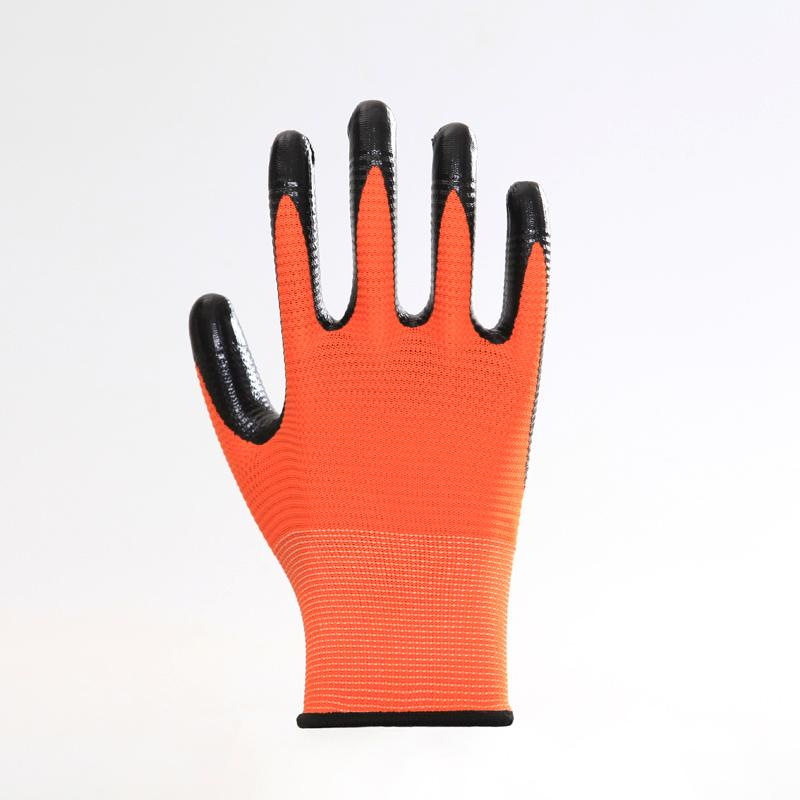 Firm Grip Cotton Knitted Working Gloves 1
