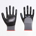 Nitrile coated safety working gloves 4