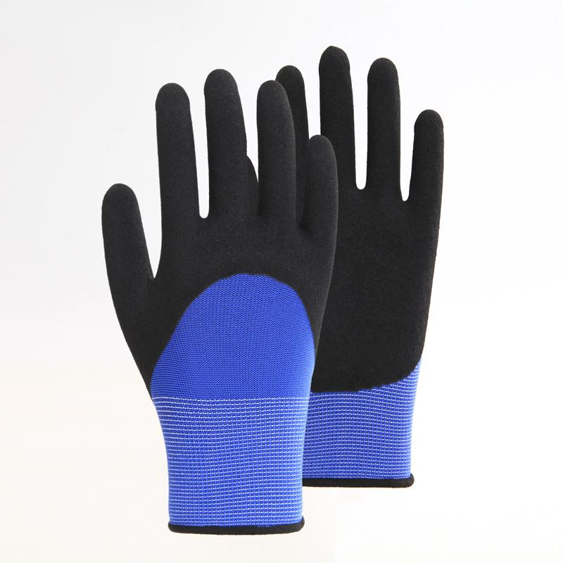Sandy Latex 3/4 Coating Working Safety Gloves 3