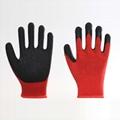 Latex Coating Crinkle Protuction Gloves 4