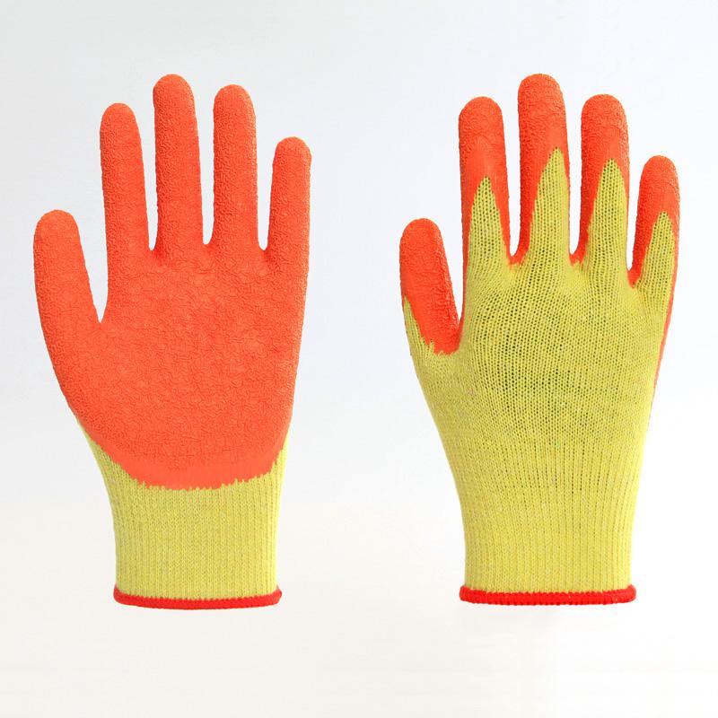 Latex Coating Crinkle Protuction Gloves 3