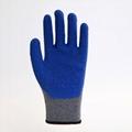 Latex Coating Crinkle Protuction Gloves 2