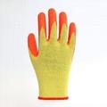 Latex Coating Crinkle Protuction Gloves