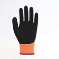 Two - Color Nitrile Safety Gloves 3