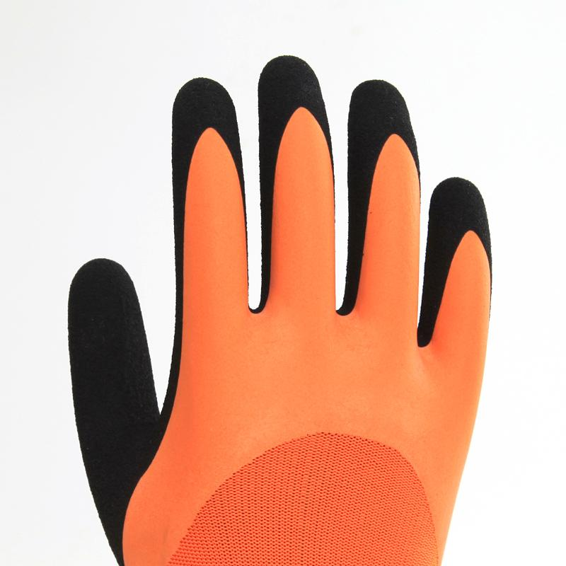 Two - Color Nitrile Safety Gloves 2