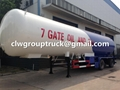25T Tri-axle LPG Transport Semi-Trailer 4