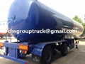 25T Tri-axle LPG Transport Semi-Trailer