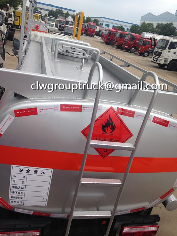 Top Sale JAC 120HP 5000L Fuel Tank Truck 2