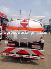Top Sale JAC 120HP 5000L Fuel Tank Truck