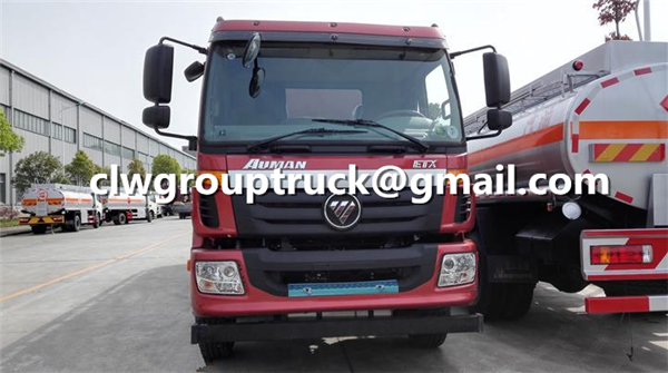 FOTON AUMAN 10000 Litres Fuel Tanker Transport Truck 5